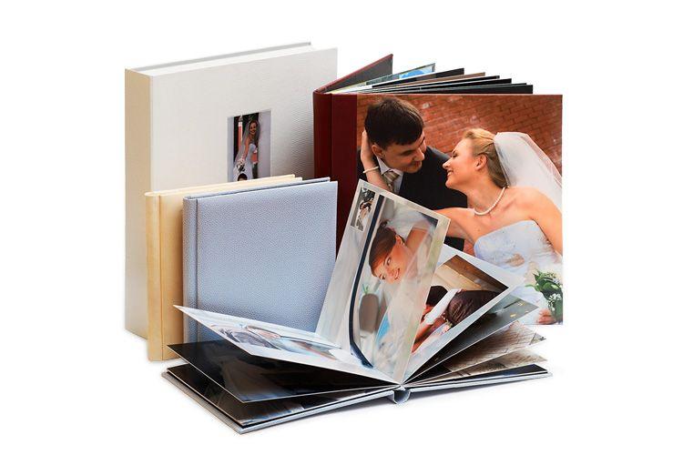 Свадебная фотокнига премиум класса